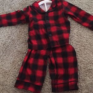 Other - Carters Just One You Plaid Buffalo Pajama 18 Month